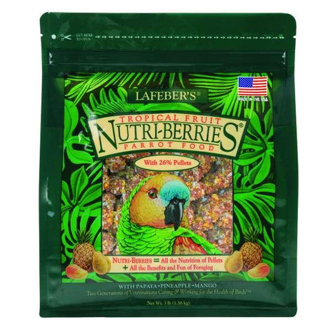 Image of Lafeber Tropical Fruit Nutri-Berries Parrot