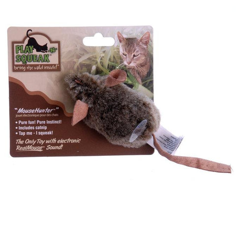Play-N-Squeak Mouse Hunter Cat Toy