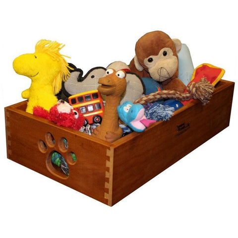 Small Wood Pet Toy Box-Amish Handcrafted