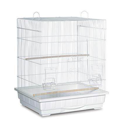 Image of Prevue Pet Square Roof Parakeet Cage