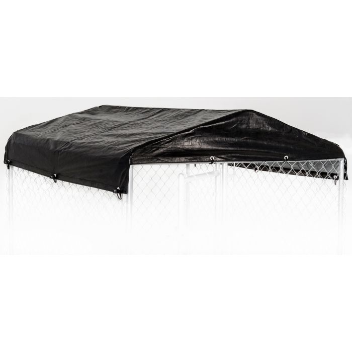 WEATHERGUARD™ ALL SEASON DOG RUN COVER & ROOF - 5'W X 5'L