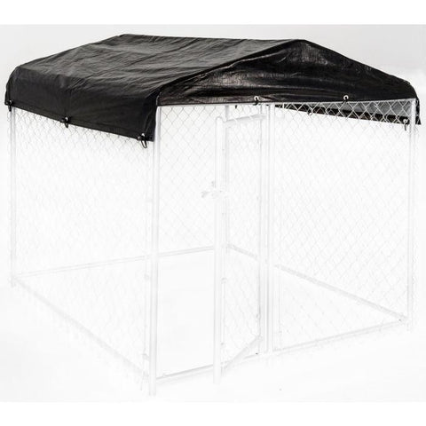 Image of WEATHERGUARD™ ALL SEASON DOG RUN COVER & ROOF - 5'W X 5'L