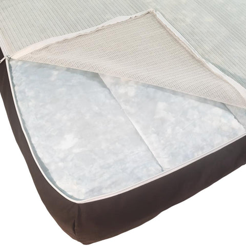 Image of Sealy Cozy Comfy Sherpa Orthopedic Dog Bed 712190190866.