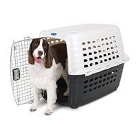 Image of Doskocil - Fashion Compass Kennel - Met White/Black