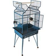 A&E Cage Company - Victorian Open Top Cage With Removable Legs - Black - 26 X 20 Inch