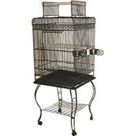 A&E Cage Company - Economy Play Top Cage - Black - 20x20x58 Inch
