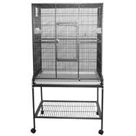 A&E Cage Company - Flight Bird Cage with Stand - 32 x 21 x 63 Inch