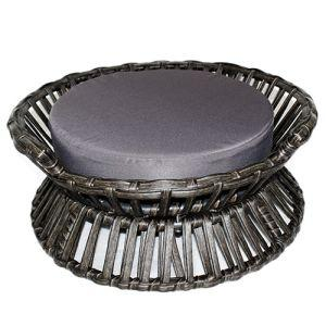 Iconic Pet - Rattan Raised Arc Bed - Medium