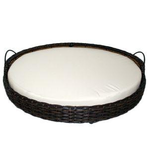 Iconic Pet - Rattan Round Pet Basket