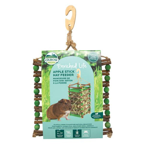 Ox Bow Natural Apple Stick Hay Feeder