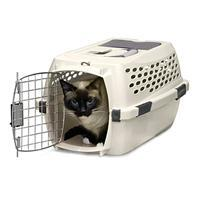 Doskocil Petmate- Vari Kennel Pet Carrier - Bleached Linen