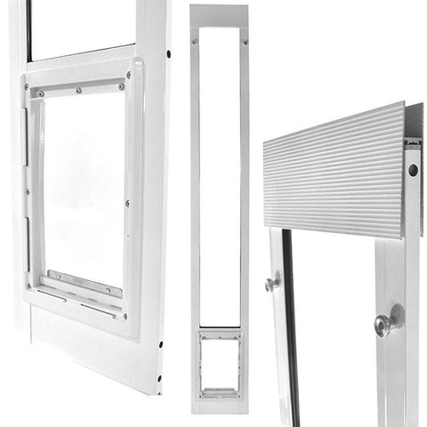 "75"" to 77 3/4"" Tall Fast Fit Pet Patio Door"