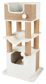Trixie Pet Lucano Cat Tower Scratching Post Cream
