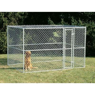 Midwest Chain Link Portable Kennel - 10' x 6' x 6'