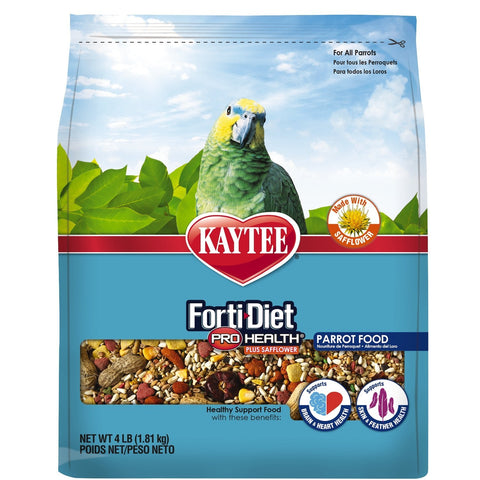 Image of Kaytee Forti-diet Pro Health Parrot Safflower Blend- 25 lbs.