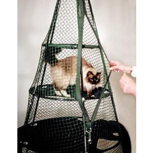 4' x 6' Mesh Cat Tent Playpen For Outdoors/Indoors, Cat Teepee Enclosure By Kittywalk KWTSP501