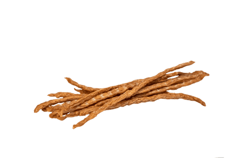 100% All Natural Premium Chicken Jerky Lucky Straws Dog Treats-8 oz. Tall Jar
