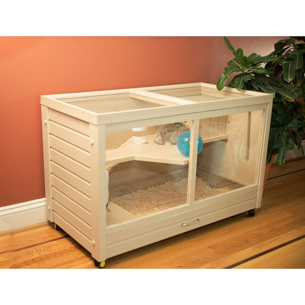 New Age Pet® Park Avenue Indoor Rabbit Hutch