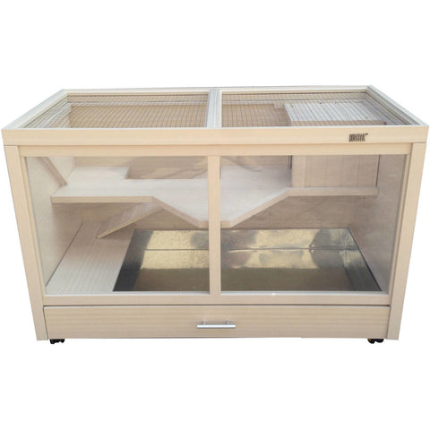 Image of New Age Pet® Park Avenue Indoor Rabbit Hutch