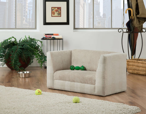Image of Pink Paws Pepper Pet Sofa