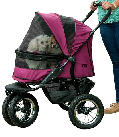 Image of Pet Gear Single/Double Pet NO-ZIP Stroller