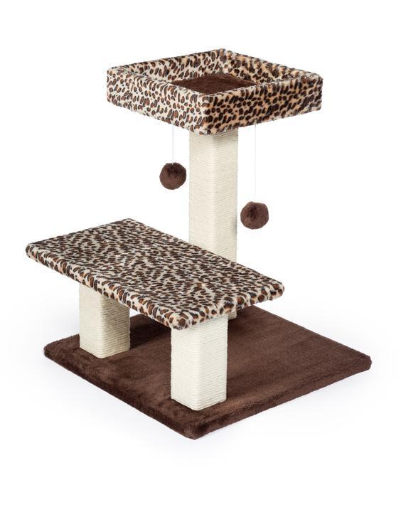 Prevue Pet Kitty Power Paws Leopard Terrace