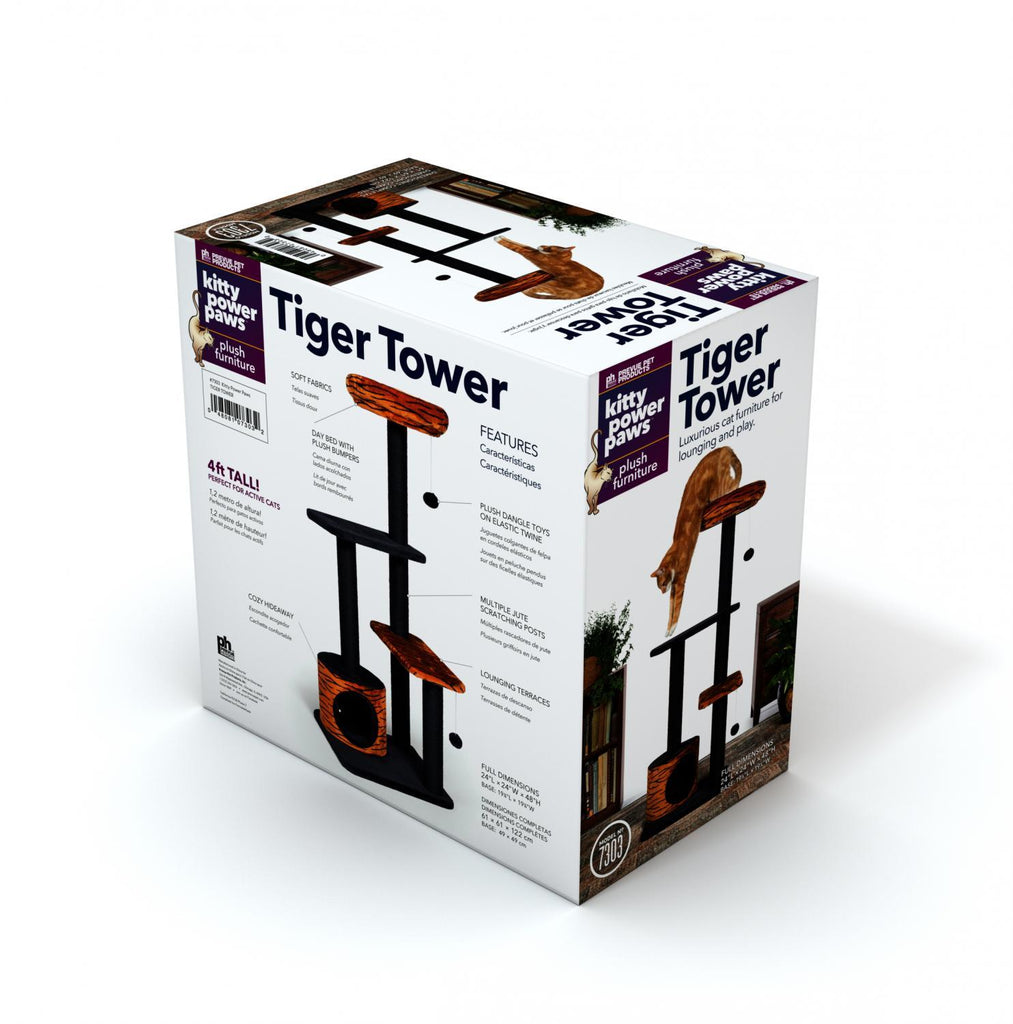 Prevue Pet Kitty Power Paws Tiger Power