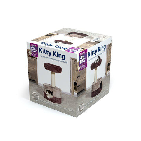 Prevue Pet Kitty Power Paws Kitty King