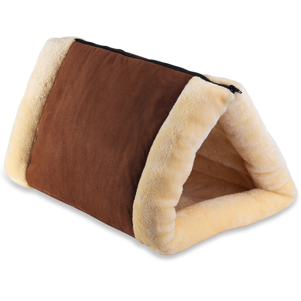 Paws & Pals 2-in-1 Tunnel Fleece Bed