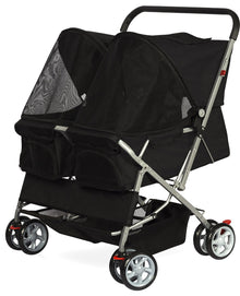 Paws & Pals Double Pet Stroller