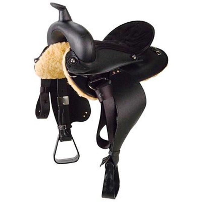 "Wintec Youth All Rounder Saddle, 13"" seat"