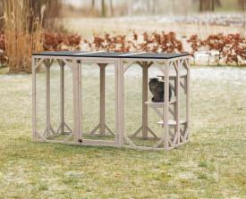Image of Trixie Pet natura Cattery Outdoor Cat Run