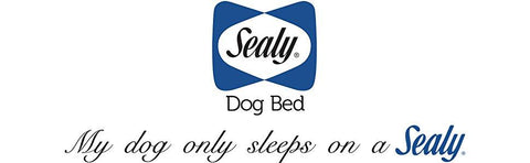 Image of Sealy  Lux Orthopedic Memory Foam Cooling Odor Absorbing Dog Bed