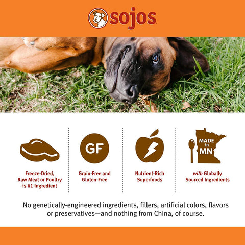 Image of Sojos® Complete Grain Free Beef Recipe Dog Food 7 Lbs