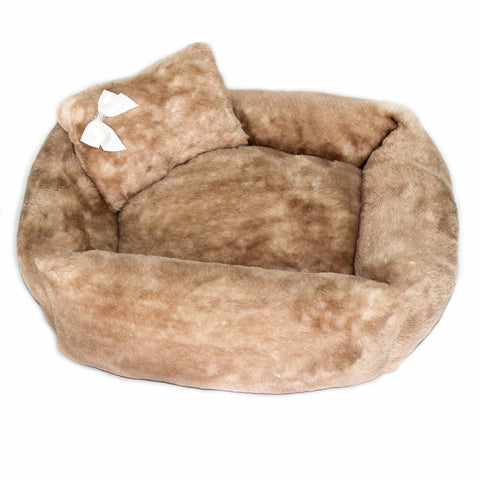 Super Plush Teddy Bear Pet Bed