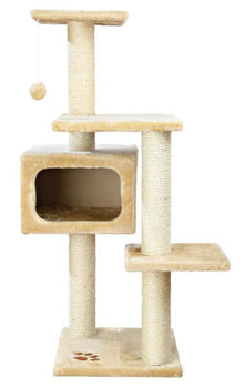 Trixie Pet Palamos Cat Tower Beige