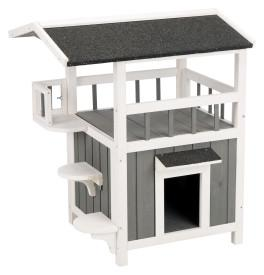 Image of Trixie Pet natura Pet Home with Shaded Balcony