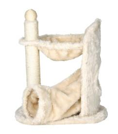 Trixie Pet Cat Furniture Baza Gandia Scratching Post with Hammock Cream