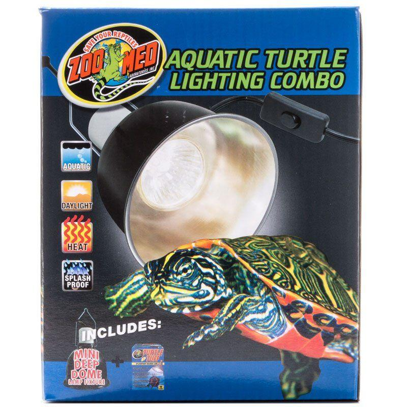 Zoo Med Laboratories Aquatic Turtle Lighting Combo