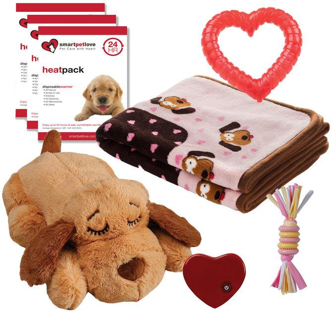 Snuggle Puppy Starter Kit Calming Comfort Plush
