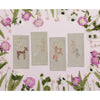 Fox with Blossoms Tea Towel