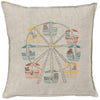 "Ferris Wheel Pillow 16""x16"""