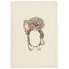 Lucky Raccoon Embroidered Stationery