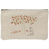 Persimmon Tree Zipper Pouch