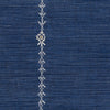 Stitch Stripe Indigo Fabric Yardage