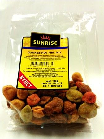 Sunrise hot fire mix- 12x127 g