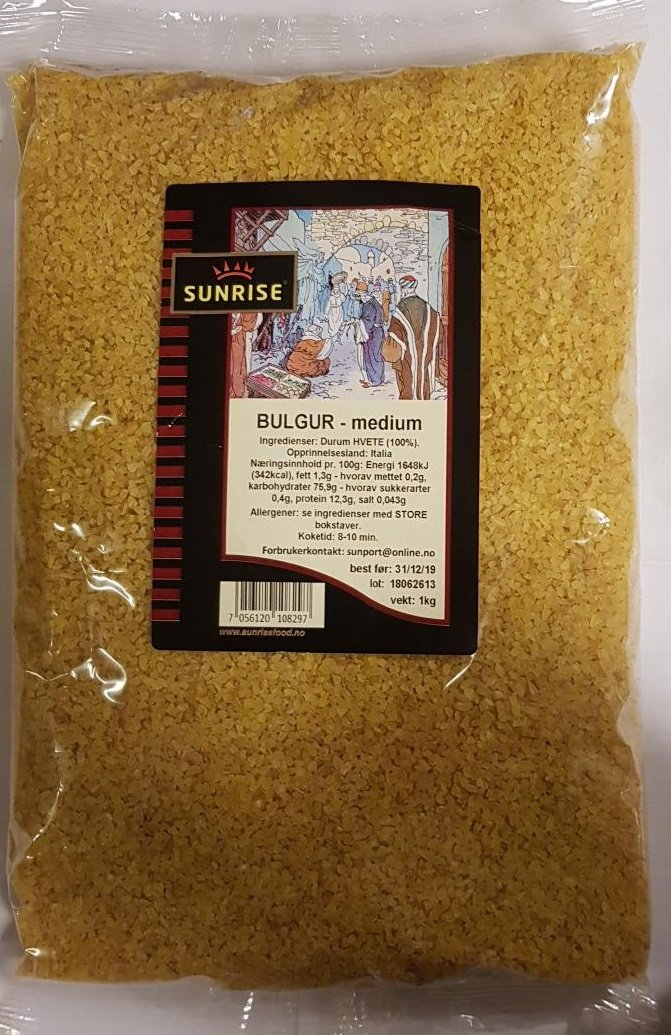 Bulgur - medium - 6x1 kg