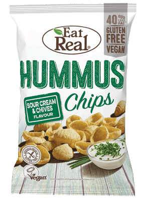 Hummus sour cream&chives - 10x135 fr