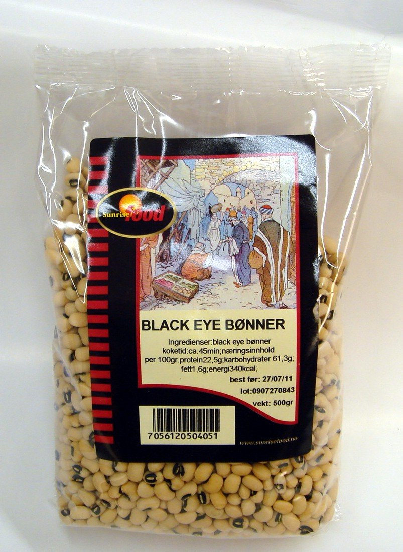 Black eye bønner- 16x450 gr