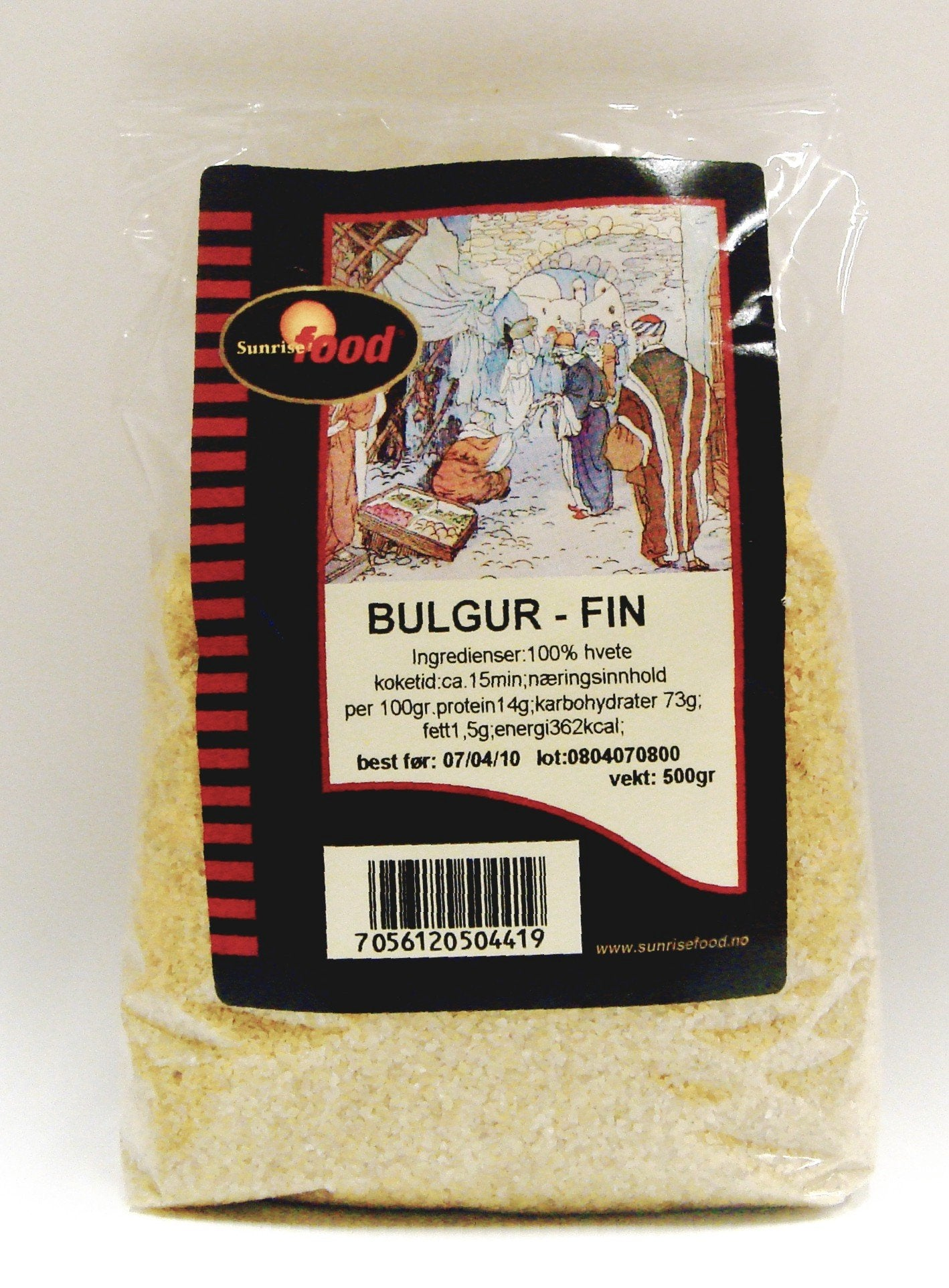 Bulgur - medium- 16x450 gr